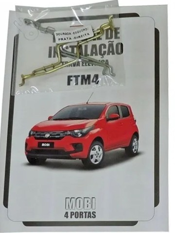 Kit Trava Elétrica Para Fiat Mobi 4 Portas Ftm4 Mn  Tragial