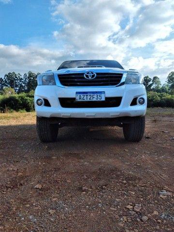 Toyota/Hilux Cd Srv 4x4 2015 - Foto 10