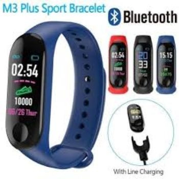M3 Smartwatch Pulseira inteligente + 1 Pulseira Reserva Pronta Entrega - Foto 2