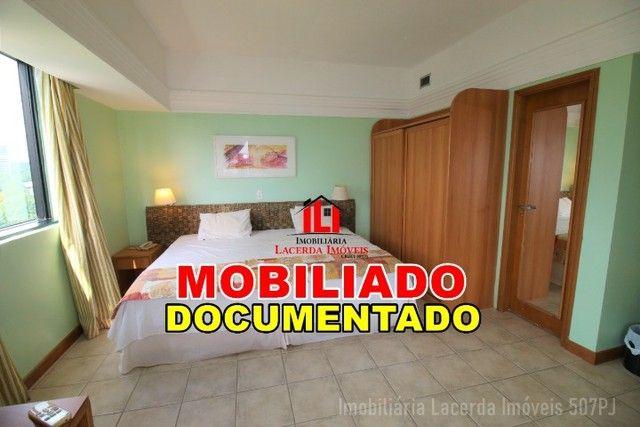 Flat Mobiliado com Vista p Rio no Tropical Hotel 6 Andar - Foto 15