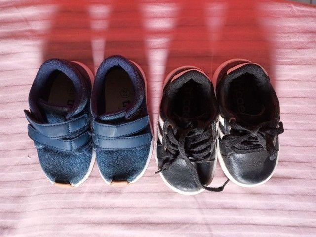 Vendo dois pares de sapato t 21