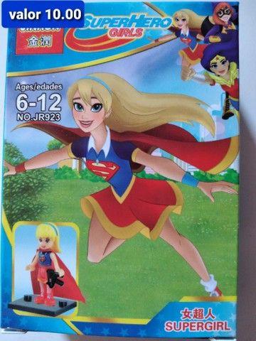 Super heroínas blocos de montar Similar ao lego  - Foto 6