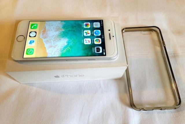 IPhone 6 64 Gb Prata, Impecável E Perfeito Estado! - Foto 4