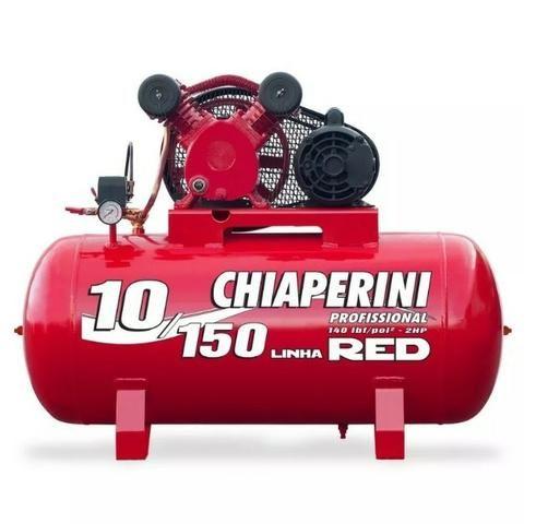 Compressor De Ar 10 Pés Red 150 Litros Mono - Chiaperini