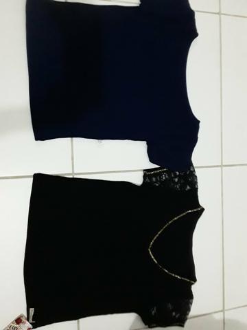 31f47a614 Blusa no tecido radiosa tamanho unico - Roupas e calçados - Vila ...