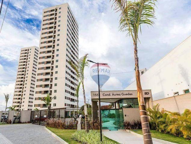 Apartamento com 2 dormitórios à venda, 52 m² por r$ 239.990,00 - ponta negra - natal/rn