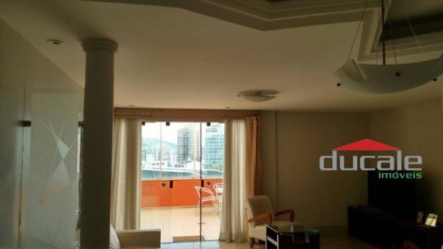 Cobertura Linear 3 quartos suite Praia do Canto