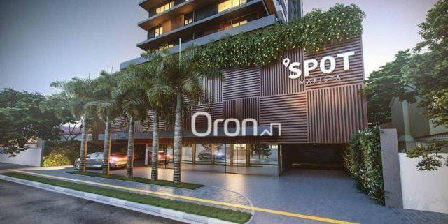 Apartamento com 2 dormitórios à venda, 71 m² por R$ 396.000,00 - Setor Marista - Goiânia/G - Foto 2
