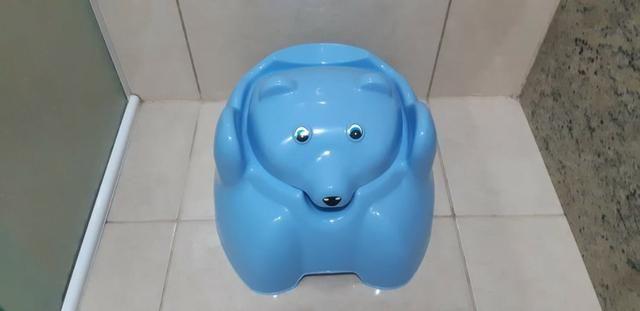 Pinico Infantil Azul Menino - Foto 2