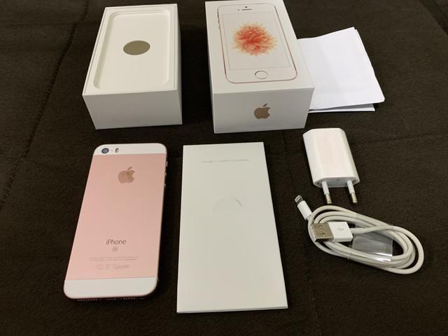 IPhone SE 128GB zero na caixa com nota fiscal - Foto 6