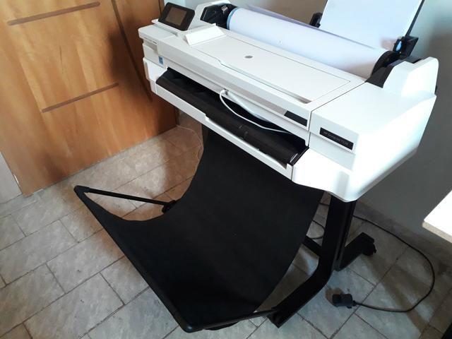 Plotter HP designjet T530 nova sem uso com Bulk r$:5.900 - Foto 2