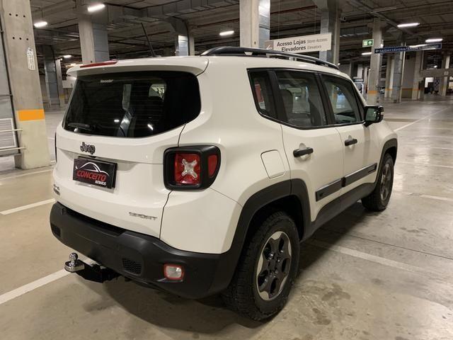 Jeep renegade sport diesel 2016 4x4 c/ bancos em couro extra!!! - Foto 6