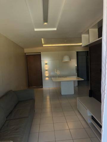 Edf. Vivart Apartamento com 3 dormitórios à venda, 83 m² por R$ 420.000 - Jatiúca - Maceió - Foto 2