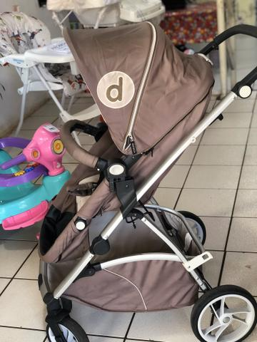Carrinho de bebê Dzieco Malu - Foto 3