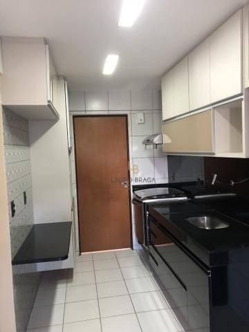 Edf. Vivart Apartamento com 3 dormitórios à venda, 83 m² por R$ 420.000 - Jatiúca - Maceió - Foto 5