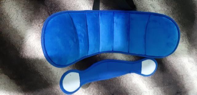 Apoio suporte cabeça proteção para cadeirinha de carro,bebê, criança e idosos - Foto 4