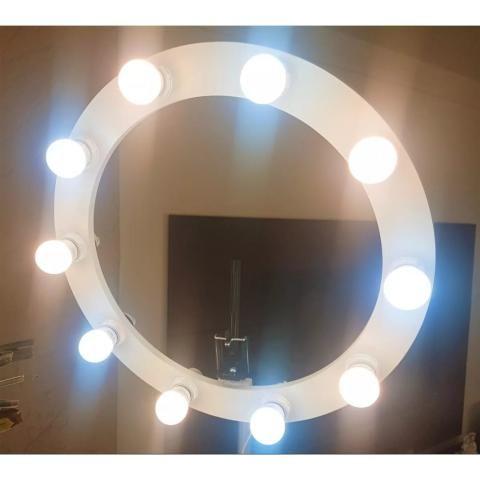 Vendo Ring Light Novo, na cor branca - Foto 3
