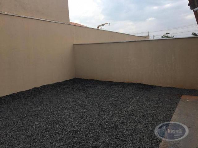 Casa com 2 dormitórios para alugar, 50 m² por r$ 650/mês - jardim maria imaculada i - brod - Foto 13