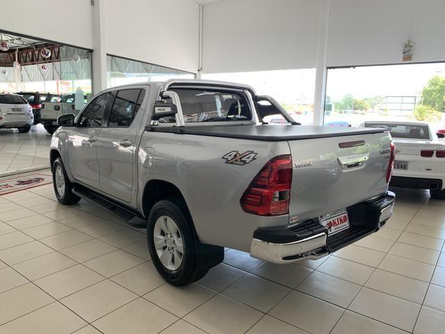 Toyota Hilux SRV CD 2.8 4x4 Automática Diesel 2018 - Foto 9
