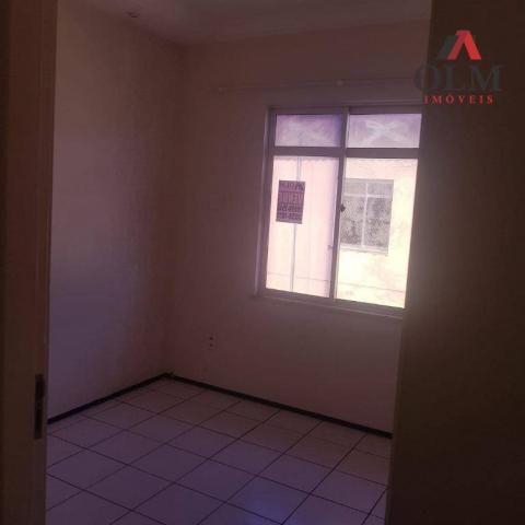 Apartamento com 2 dormitórios à venda, 57 m² por R$ 144.000 - Messejana - Fortaleza/CE - Foto 4