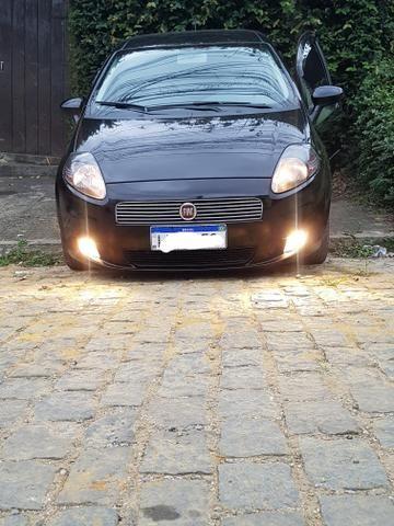 Fiat Punto 1.4 8v fire completo bancos de couro - Foto 2
