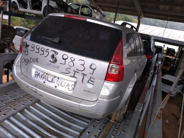Renault Megane GrandTour 13 Sucata Papaléguas Caçador SC - Foto 4