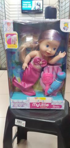 Boneca baby alife sereia