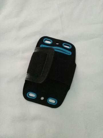 Porta celular braço corrida academia - Foto 3