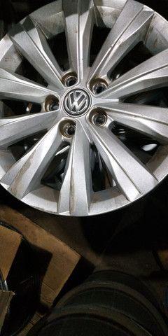 Jogo de rodas aro 15 Original VW