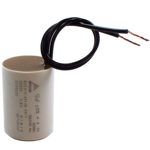Capacitor Polip Para Motor Ventilador 12 Uf Mf 250v - Foto 2