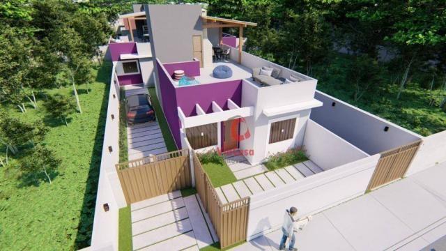 Lindas casas com 2 quartos sendo 1 auíte com terraço gourmet perto da pista !!! - Foto 12