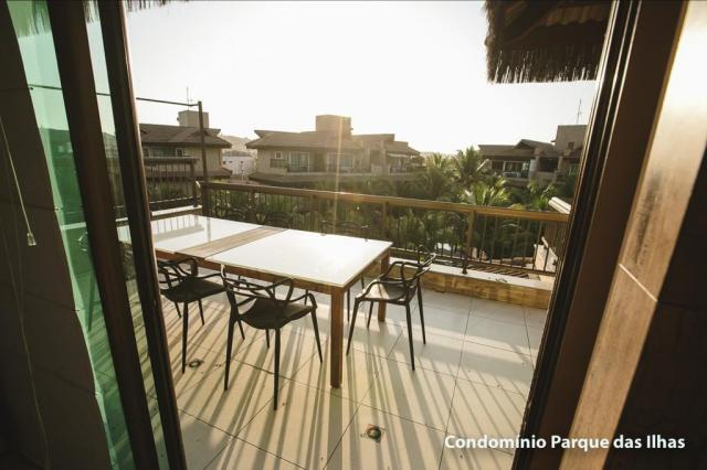 Vendo linda cobertura duplex no parque das ilhas(Porto das Dunas) 164m, toda projetada, po - Foto 20