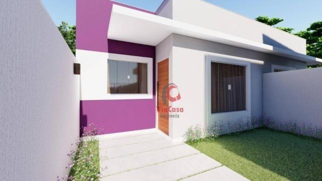 Lindas casas com 2 quartos sendo 1 auíte com terraço gourmet perto da pista !!! - Foto 8