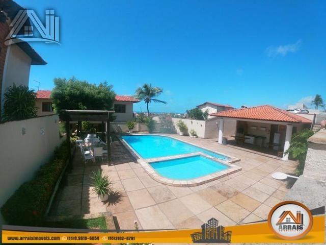 Casa com 4 dormitórios para alugar, 180 m² por R$ 3.900,00/mês - Porto das Dunas - Aquiraz - Foto 4