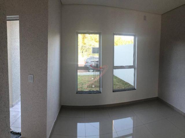 Casa recém construída no Jd. Cataratas com 2 quartos, amplo quintal - apta para financiame - Foto 17