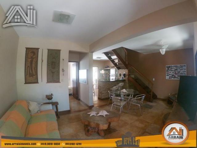 Casa com 4 dormitórios para alugar, 180 m² por R$ 3.900,00/mês - Porto das Dunas - Aquiraz - Foto 7