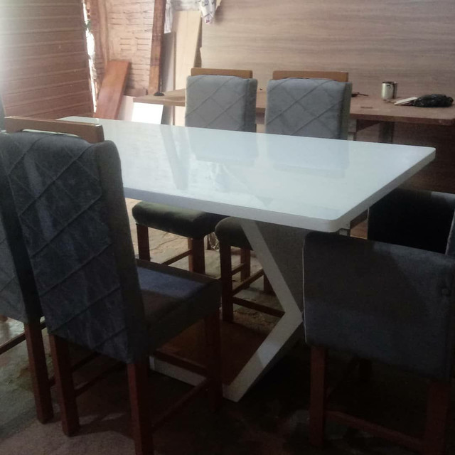 Mesa laqueada madeira  - Foto 3