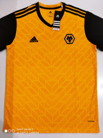 Camisa Wolverhampton Home Adidas 20/21 - Tamanho: G