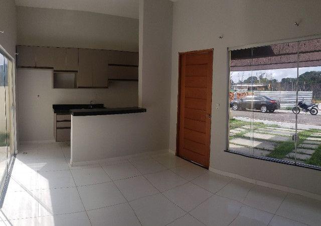 Belíssima Casa no Residencial Arbre Casa com 3 quartos sendo 2 suítes e 2 garagens - Foto 7