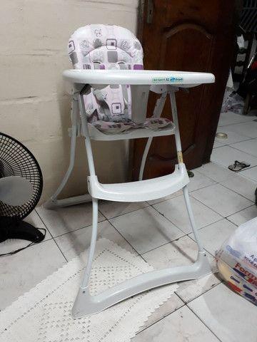 Cadeira infantil comprada e usada apenas 1 mês  - Foto 2