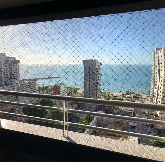 Apto mobiliado com 02 quartos, vista mar no Meireles  - Foto 5