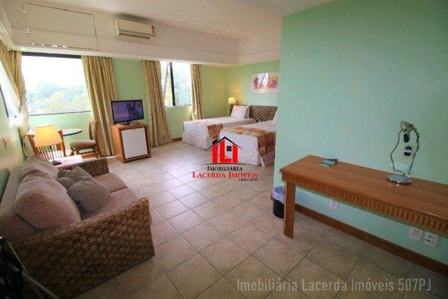 Flat Mobiliado com Vista p Rio no Tropical Hotel 6 Andar - Foto 16