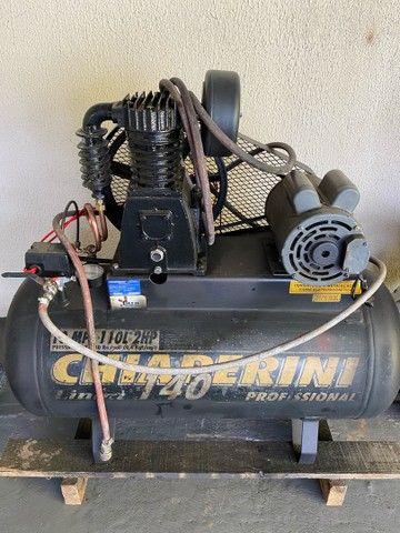 compressor 10 pés - locações para construção civil  - Foto 2