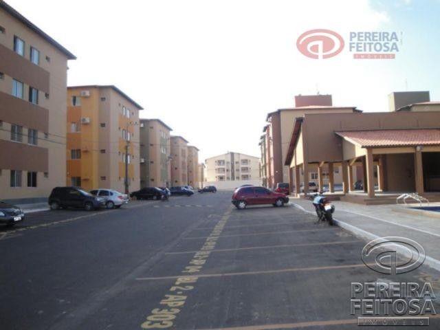 Apartamento com 2 dormitórios para alugar por R$ 950,00 - Cohama - São Luís/MA - Foto 2