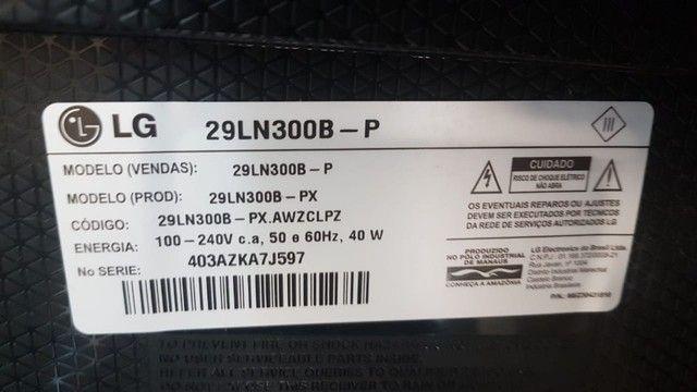 tv monitor led 29 lg 29ln300b pc c conversor digital - Foto 4