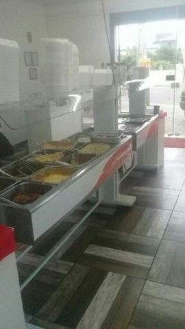 Buffet quente e frio em ótima estado de funcionamento  - Foto 5