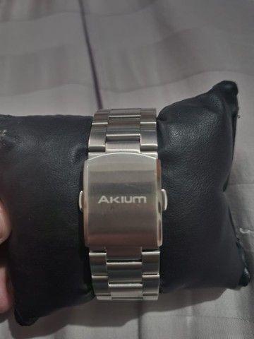 Relógio Akium nunca usado ! Original Vivara de prata e folheado a ouro  - Foto 3