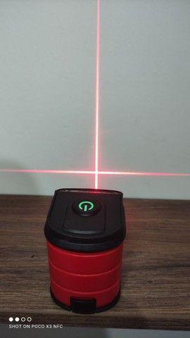 Nível automático a laser (vermelho) -> NOVO - Foto 3