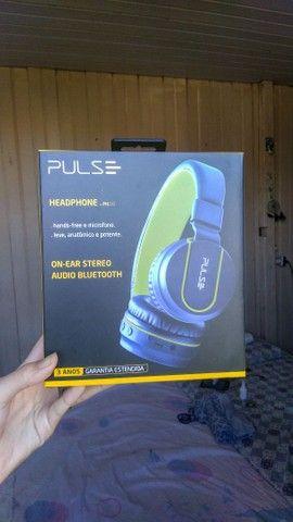 Vendo Fone PULSE - On Ear Stereo Áudio Bluetooth - PH218 (Novo) - Foto 5