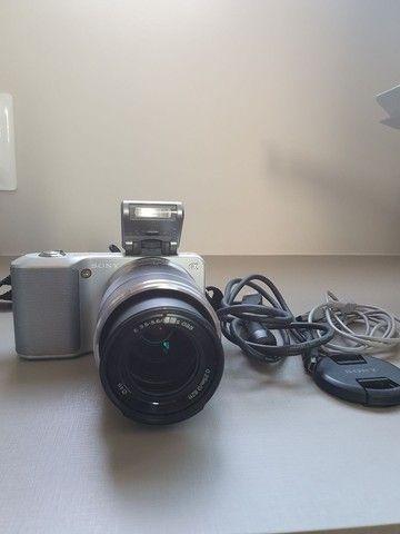 Máquina de fotografia Sony NEX -3 E 18-55mm 14.2 Mega pixels - Foto 4
